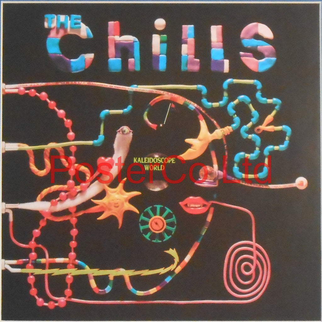 "The Chills - Kaleidoscope World (Album Cover Art) - Framed Print - 16""H x 16""W"
