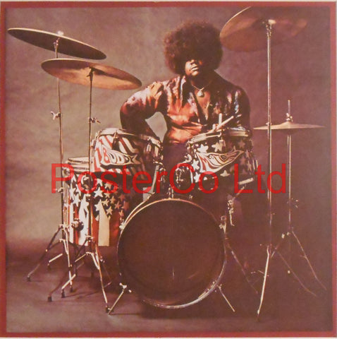 "Buddy Miles - Them Changes (Album Cover Art) - Framed Print - 16""H x 16""W"
