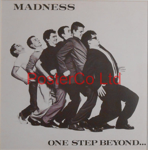 "Madness - One Step Beyond (Album Cover Art) - Framed Print - 16""H x 16""W"