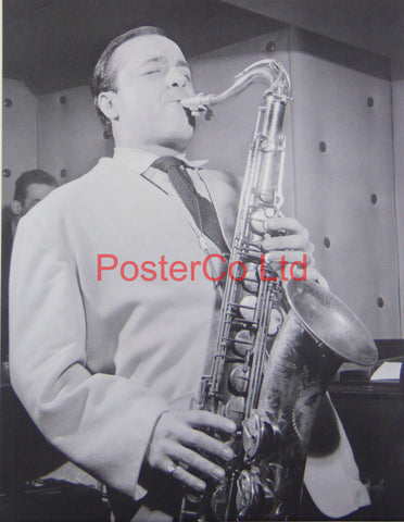 Flip Phillips - Playing a Saxophone