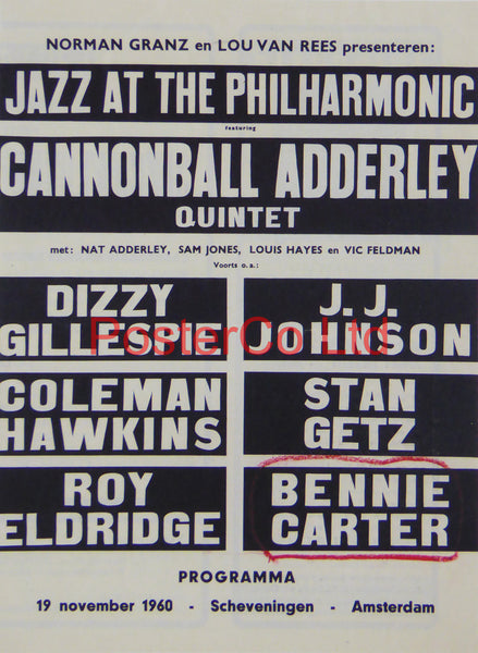 Jazz at the Philharmonic advert