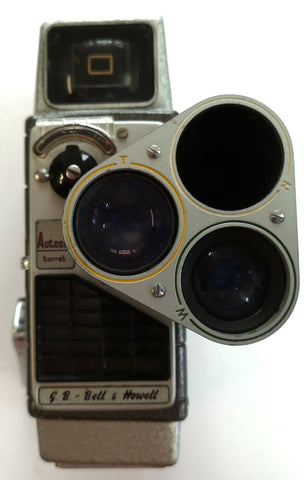 Bell and Howell: Autoset Turret Camera