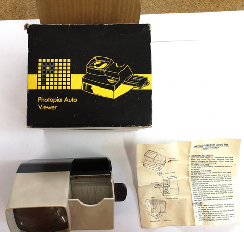 Photopia Auto Viewer Slide Viewer (Boxed, with Instructions)