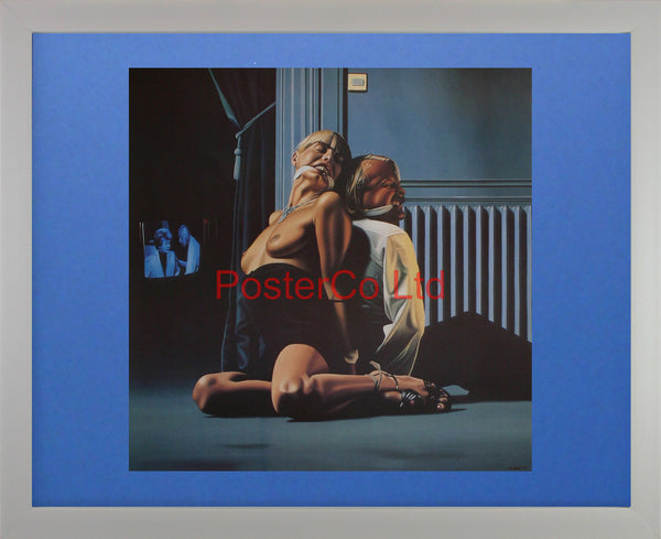 "Tied Up - Paul Roberts - Framed Print - 16""H x 20""W"