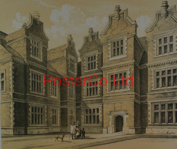 "Old Manor House Hollingbourne Kent - Framed Print - 16""H x 20""W"