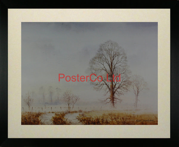 "A misty morn - Simon Deverill-Atack - Framed Print - 16""H x 20""W"