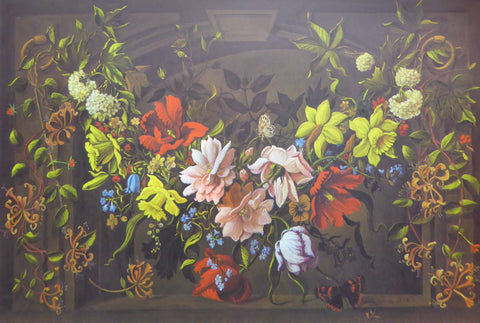 Flowers in the Window Marie Elaine D'Sena (Genuine and Vintage)