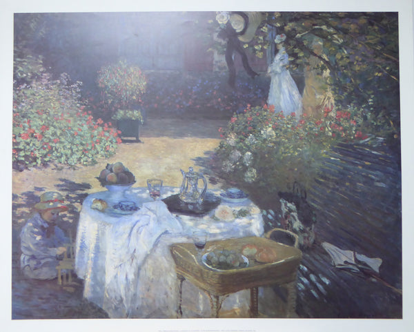 Le Dejuner Claude Monet (1993 Felix Rose) (Genuine and Vintage)