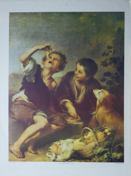 The Pastry Eaters Bartolome Esteban Murillo Dyad Marketing (Genuine and Vintage) Crate3 B7
