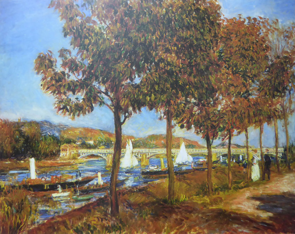Le Pont D'argenteuil Claude Monet 1993 Felix Rose (Genuine and Vintage) Crate3 B7