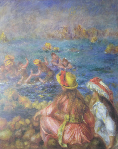 Baigneuses (Bathers) Pierre Renoir 1993 Felix Rose (Genuine and Vintage) Crate3 B8