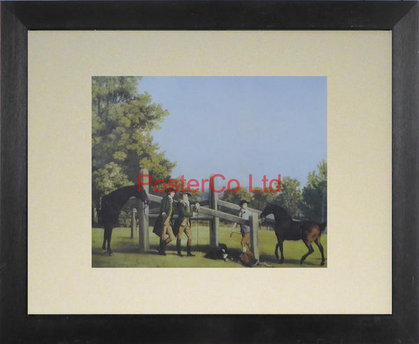 "A Young Champion - George Stubbs  - Framed Print - 11""H x 14""W"