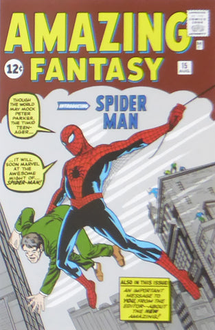 Amazing Fantasy Spider man (Marvel Comics)    Comic Cover Art