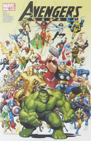 Avengers Classic (Marvel Comics)    Comic Cover Art