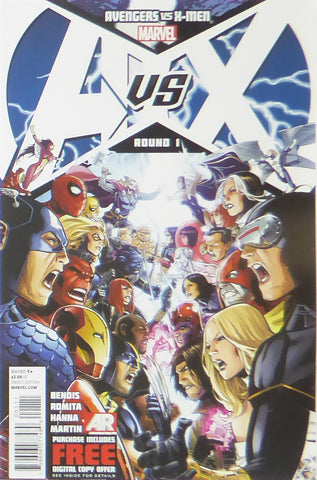 Avengers vs X Men (Marvel Comics)    Comic Cover Art