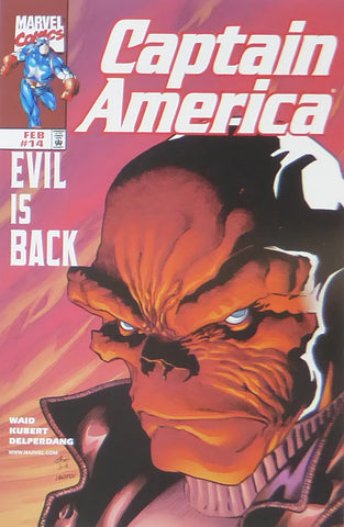 Captain America   Evil is Back (Marvel Comics)    Comic Cover Art