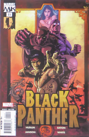 Black Panther (Marvel Comics)    Comic Cover Art