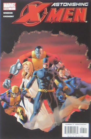 Astonishing X Men (Marvel Comics)    Comic Cover Art