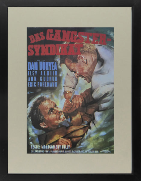 36 Hours (Das Gangster Syndikat) Dan Duryea  Movie Poster