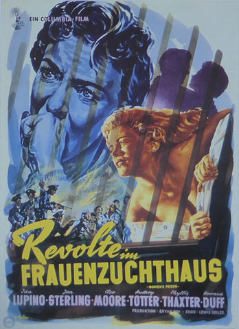 Women's Prison (Revolte in Frauenzuchthaus)  Ida Lupino  Movie Poster