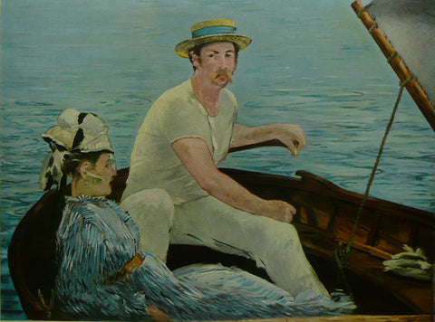 BOATING Manet