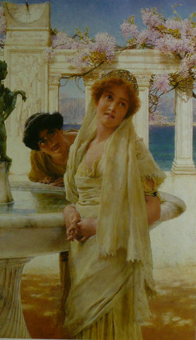 A DIFFERENCE OF OPINION Alma Tadema