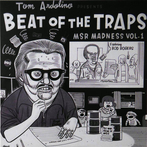 Beat of the Traps (Tom Ardolino) (Album Cover Art) Framed Print