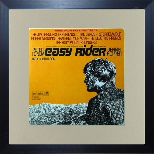 Easy Rider (Album Cover Art) Framed Print