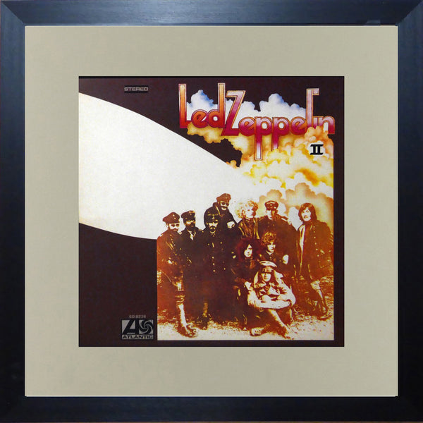Led Zeppelin II (Album Cover Art) Framed Print