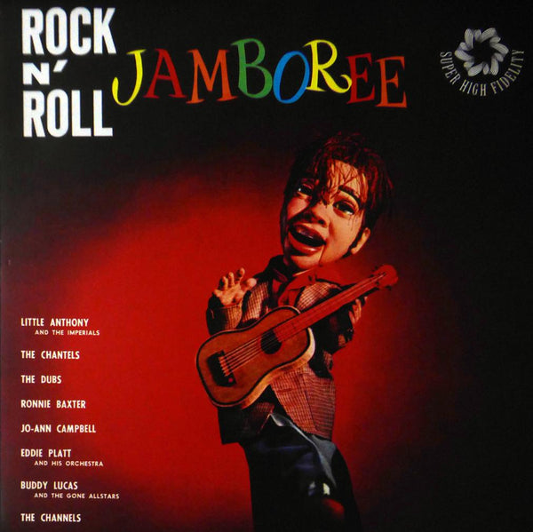 Rock & Roll Jamboree (Album Cover Art) Framed Print