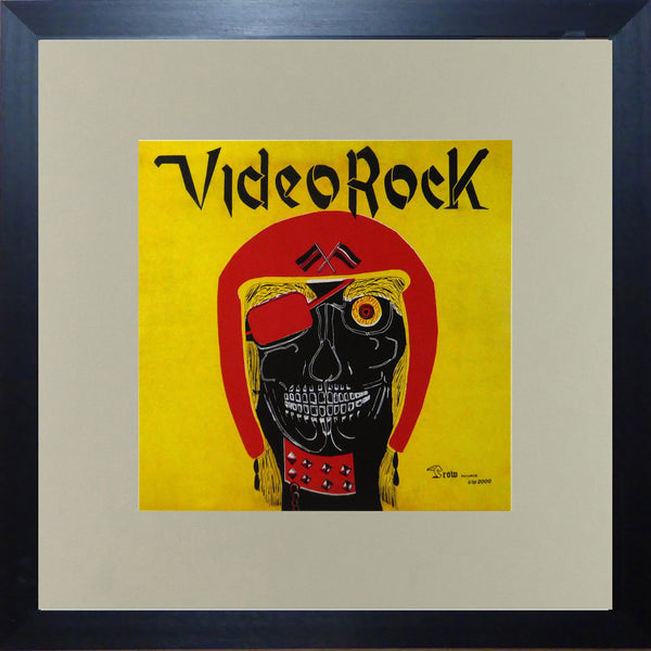 Video Rock (Album Cover Art) Framed Print