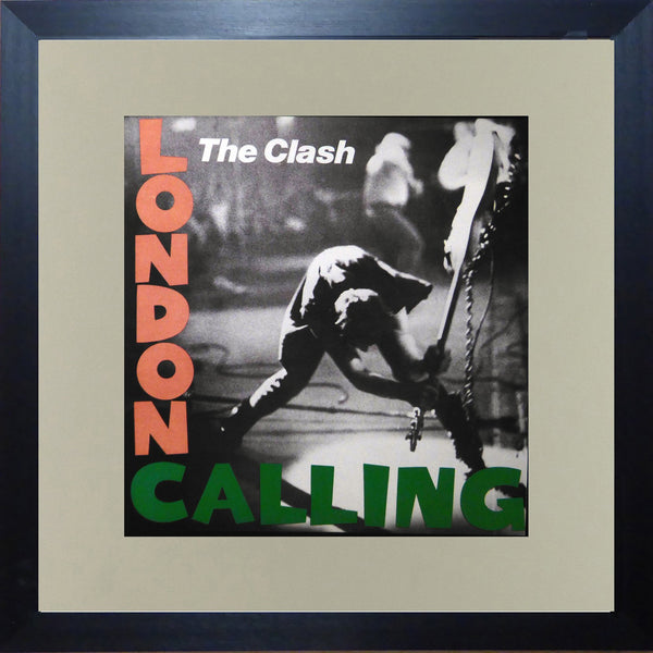 The Clash London Calling (Album Cover Art) Framed Print