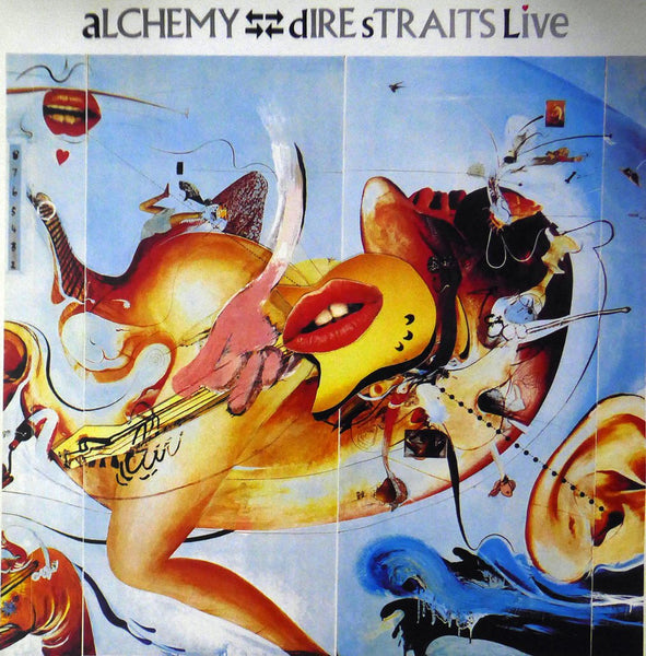 Alchemy Dire Straits Live (Album Cover Art) Framed Print