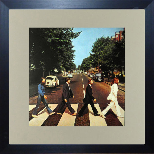 The Beatles Abbey Road (Album Cover Art) Framed Print