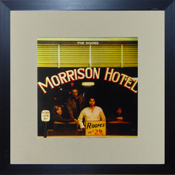 The Doors Morrison Hotel (Album Cover Art) Framed Print