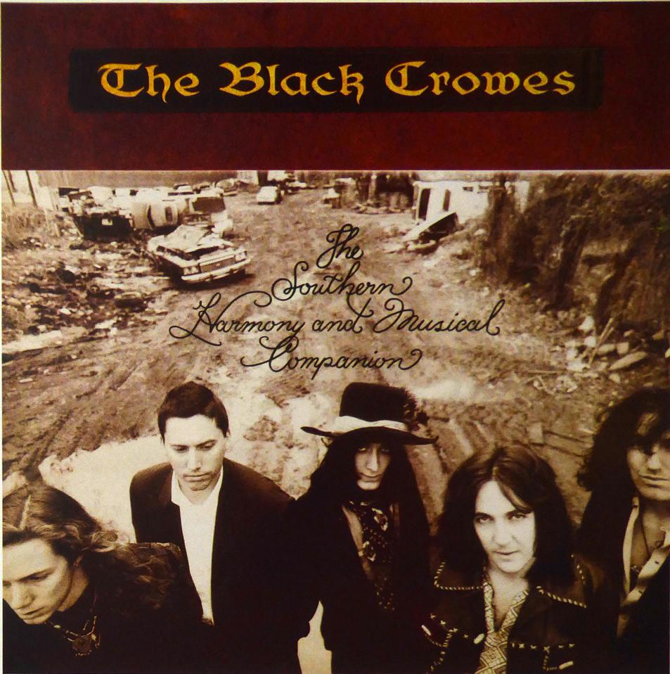 The Black Crowes Southern Harmony & Musical Companion (Album Cover Art) Framed Print