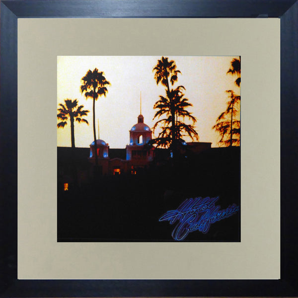 The Eagles Hotel California (Album Cover Art) Framed Print