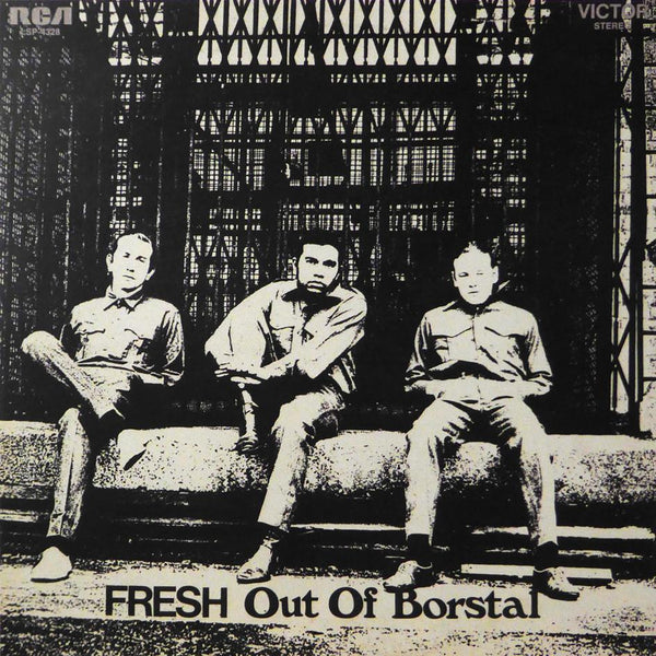Fresh out of Borstal (Album Cover Art) Framed Print