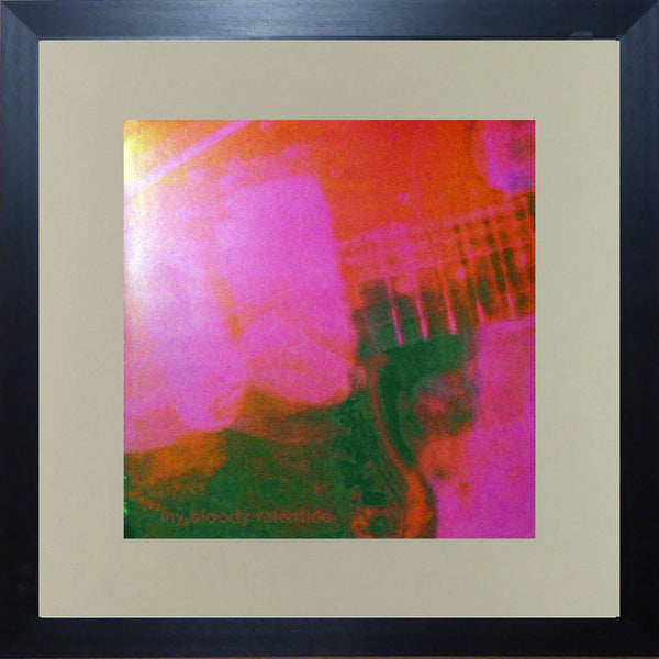 My Bloody Valentine Loveless (Album Cover Art) Framed Print