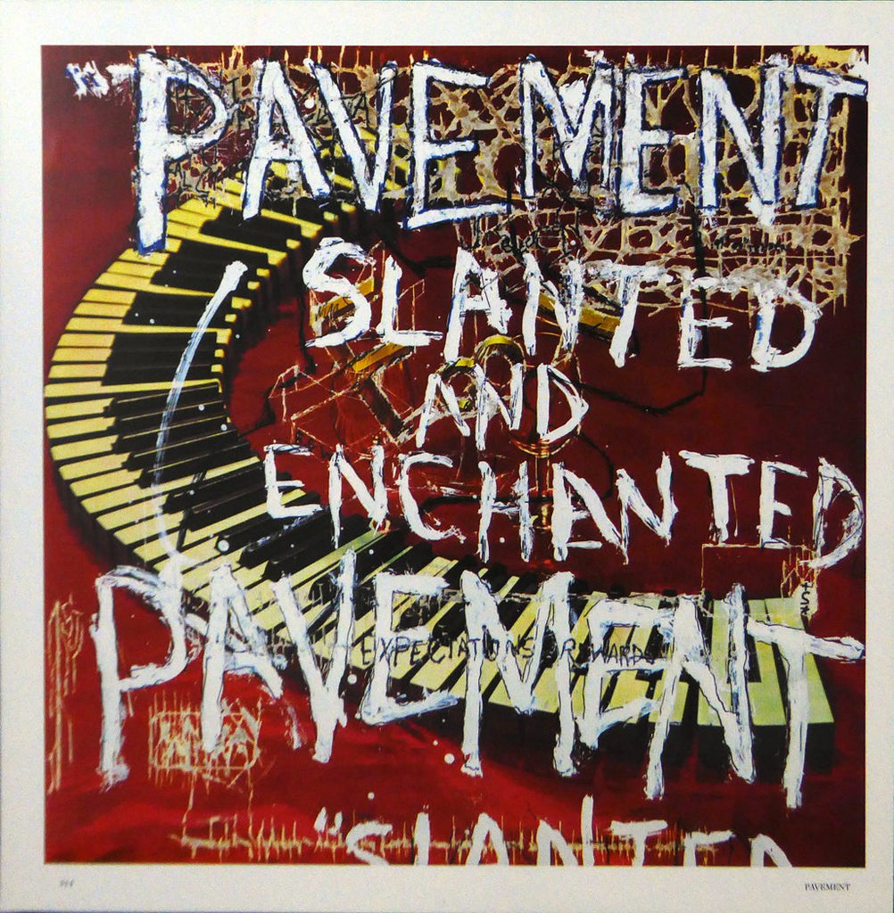 Pavement Slanted & Enchanted (Album Cover Art) Framed Print
