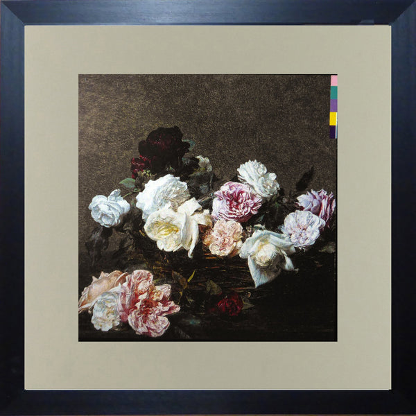 New Order Power, Corruption and Lies (Album Cover Art) Framed Print