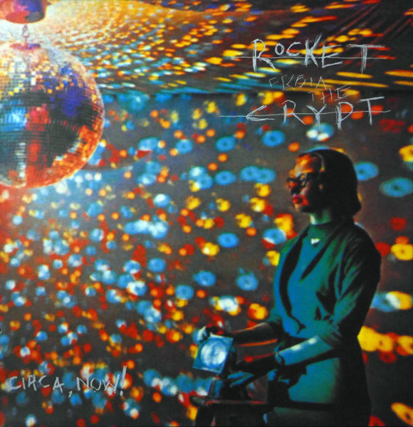 Rocket from the Crypt (Album Cover Art) Framed Print