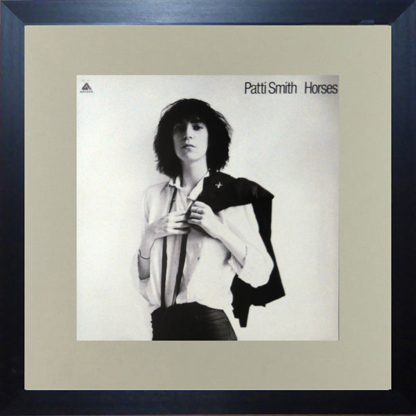 Patti Smith Horses (Album Cover Art) Framed Print