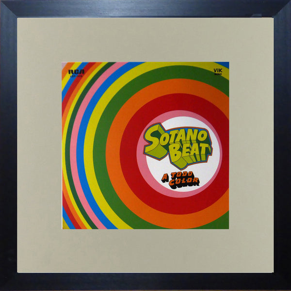 Sotano Beat  A Todo Color (Album Cover Art) Framed Print