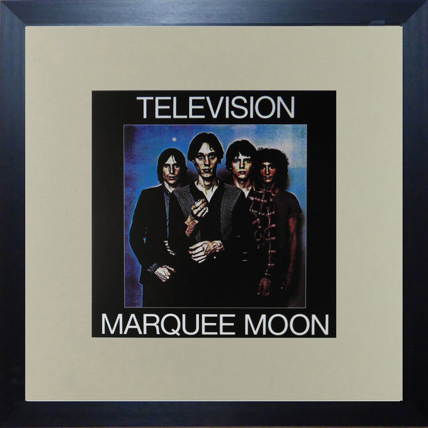Television Marquee Moon (Album Cover Art) Framed Print