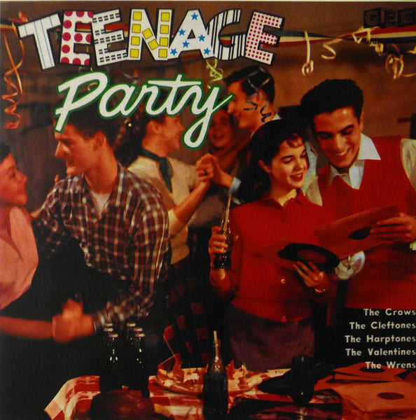 Teenage Party (various artists) (Album Cover Art) Framed Print