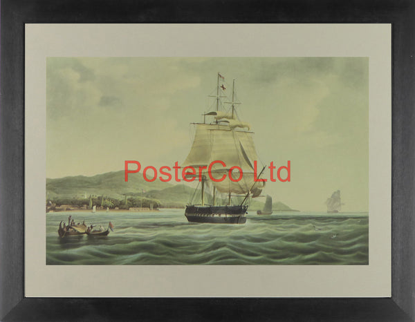 "The ""Lord Lowther"" (Ship) - Framed Print - 12""H x 16""W"