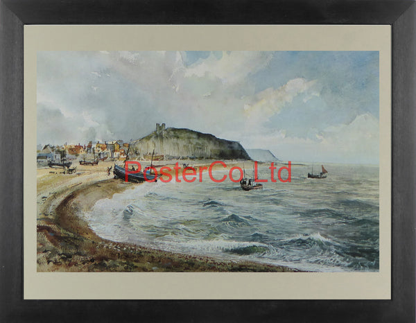 "Hastings East Sussex - Anthony Flemming - Framed Print - 12""H x 16""W"