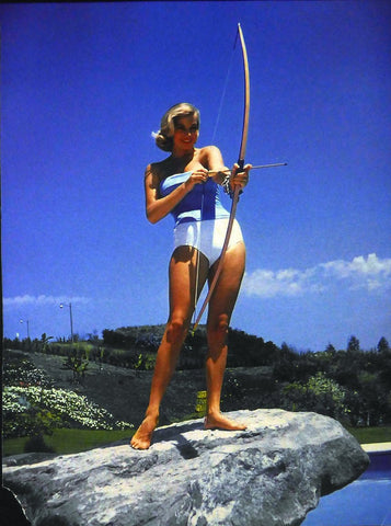 Anita Ekberg, Swimsuit and Longbow