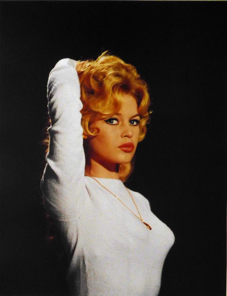 Brigette Bardot, white top